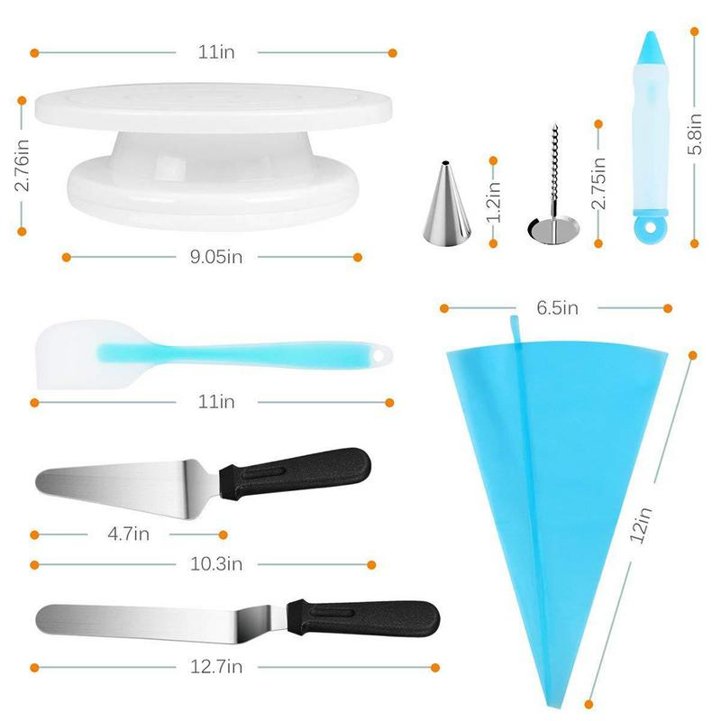 52 Pieces/set Cake Decorating Tools