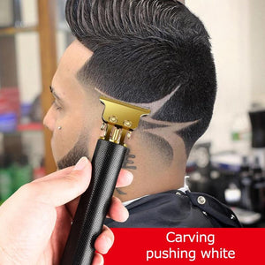 2020 New USB Rechargeable Baldheaded Hair Clipper Electric hair Trimmer