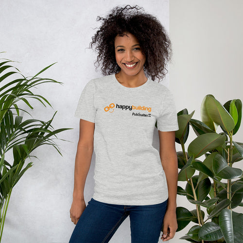 Camiseta Unisex Happy Building