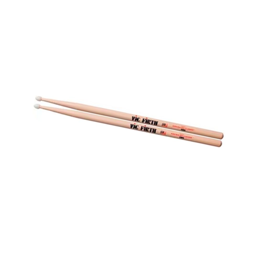 BAQUETA VIC FIRTH NOVA NYLON 2BN NAT.