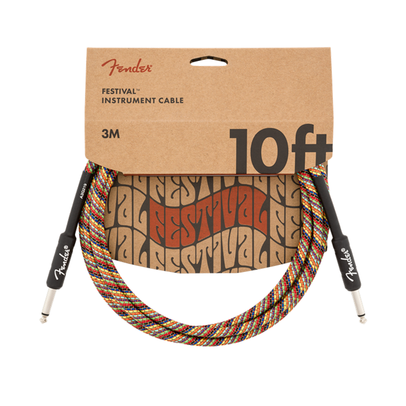 CABLE LINEA FENDER RAINBOW 3MT