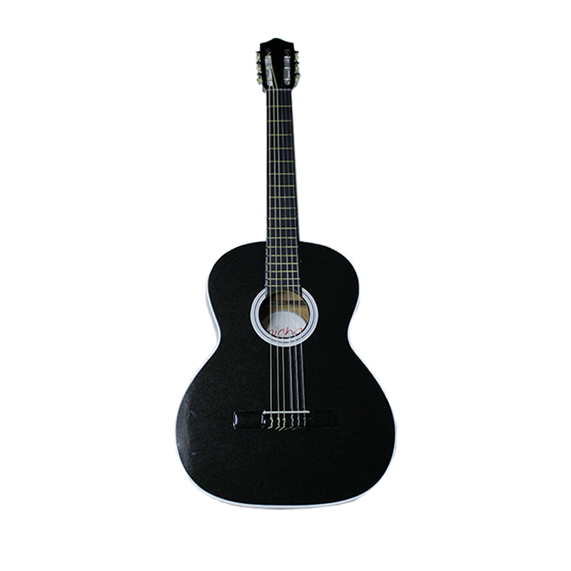 "GUITARRA MICHE 39"" NEGRA"