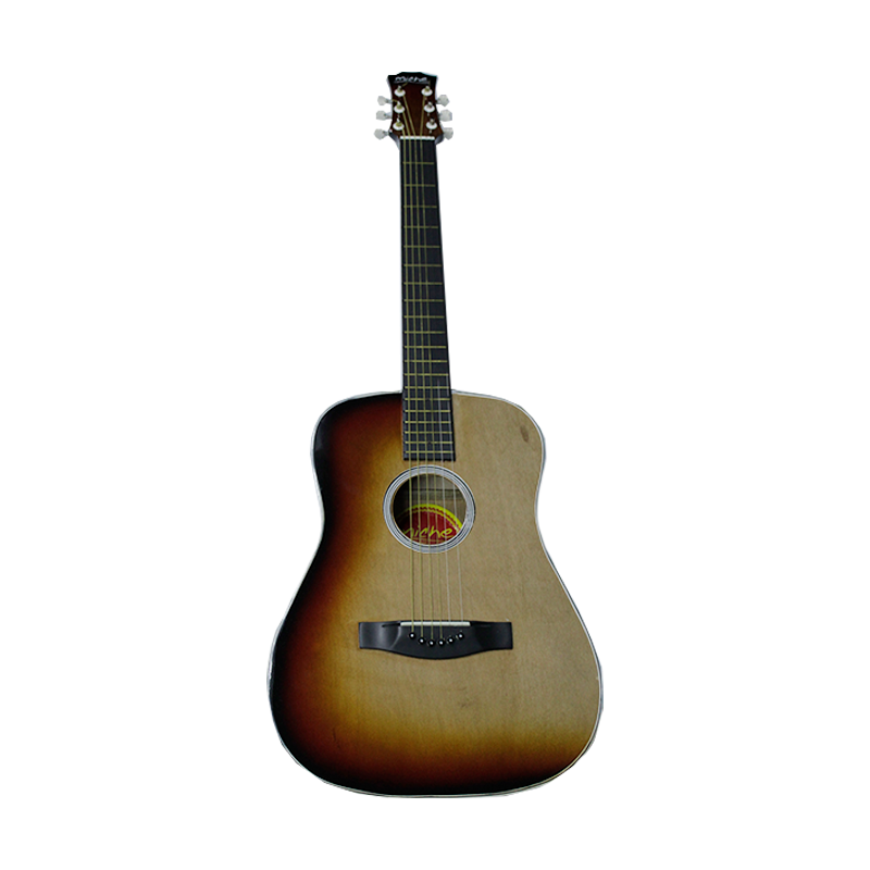 "GUITARRA MICHE FOLK 40"" ROJOCREMA"