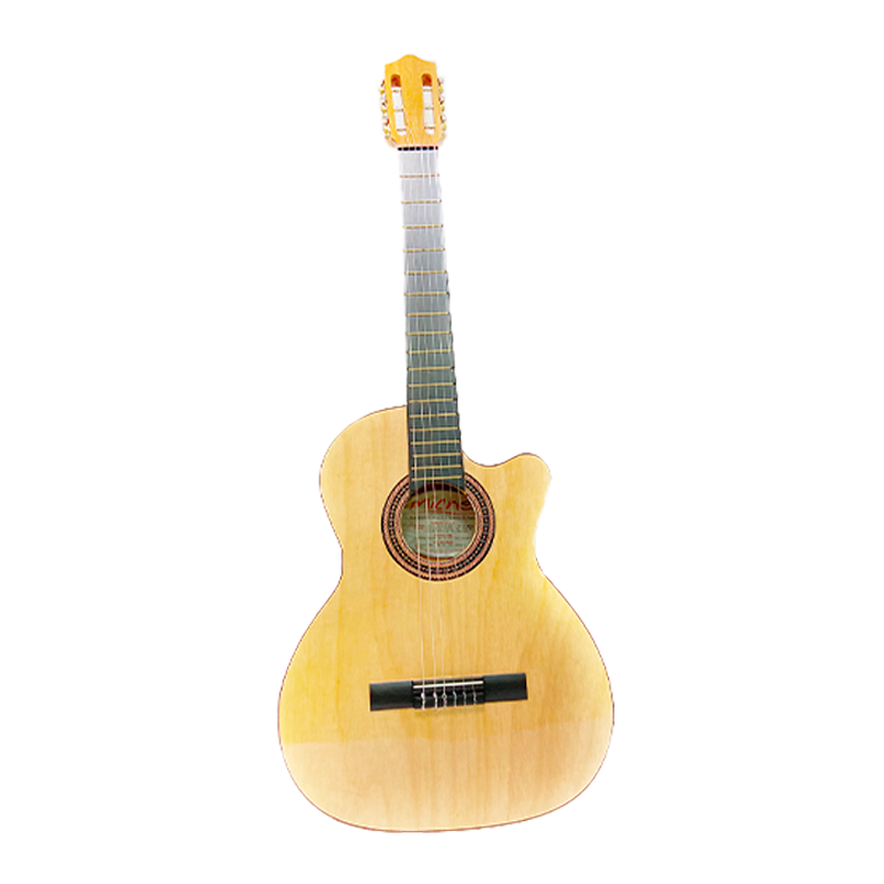 "GUITARRA MICHE 39"" PUNTERA NATURAL"