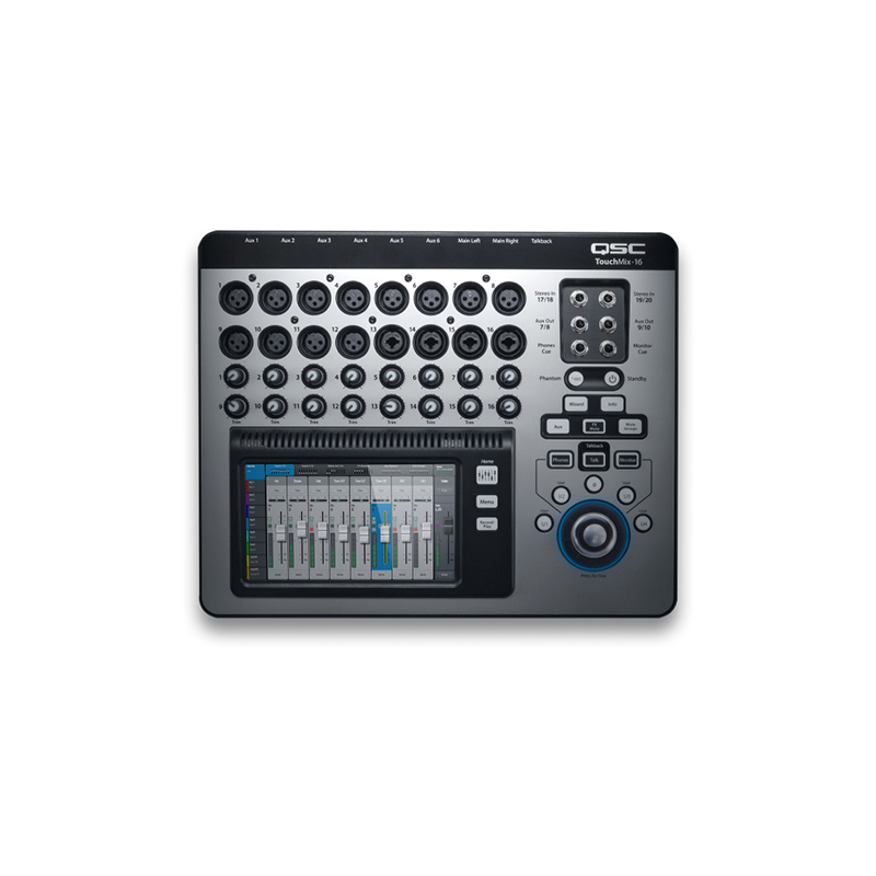 MIXER QSC TOUCHMIX-16 DIGITAL 20 CANALES