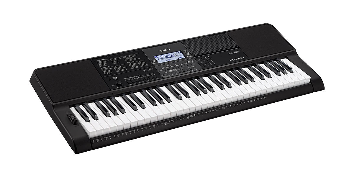 PIANO CASIO CT-X800 S/ ADAPTADOR