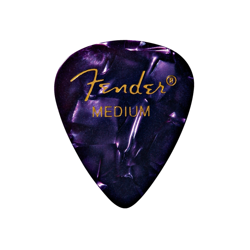 PICK FENDER PURPLE MOTO 12PK MED