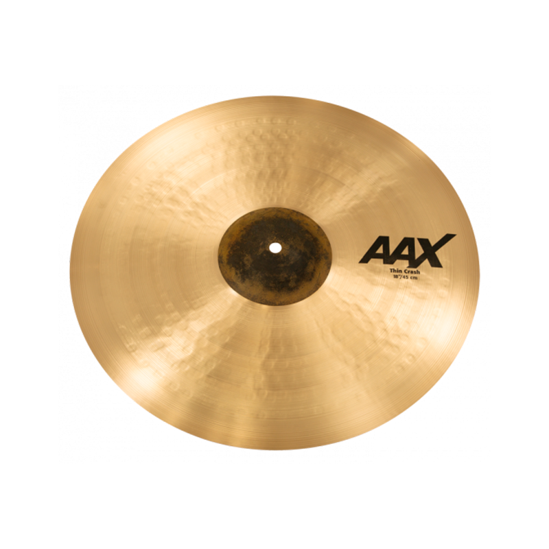 "PLATILLO SABIAN AAX ""18"" THIN CRASH 21806XCB"