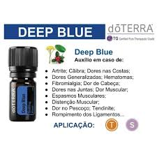 Óleo Essencial doTerra - Deep Blue 5ml