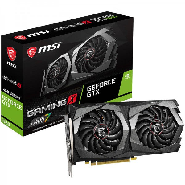 MSI GeForce GTX 1650 GAMING X 4GB