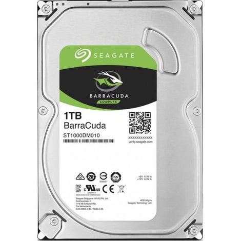 "Seagate BarraCuda 3.5"" 1TB"