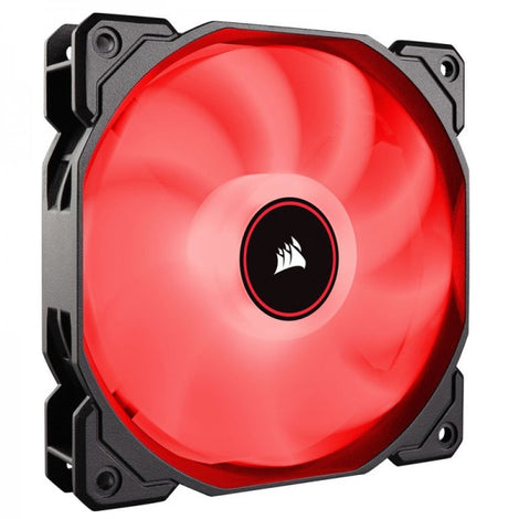 Corsair AF140 Low Noise LED Rouge
