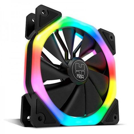 Nox D-Fan Dual Ring Rainbow RGB