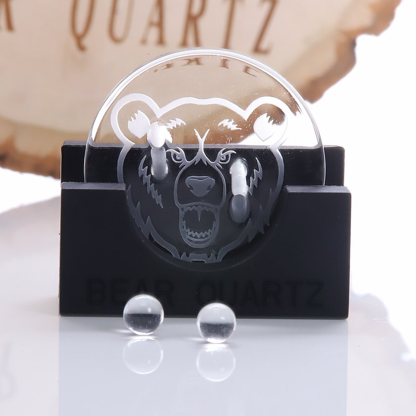 Bear Quartz disk spinner cap