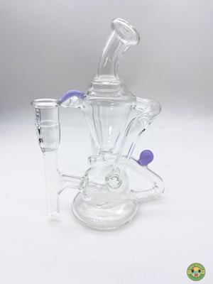 Clear 14mm recycler