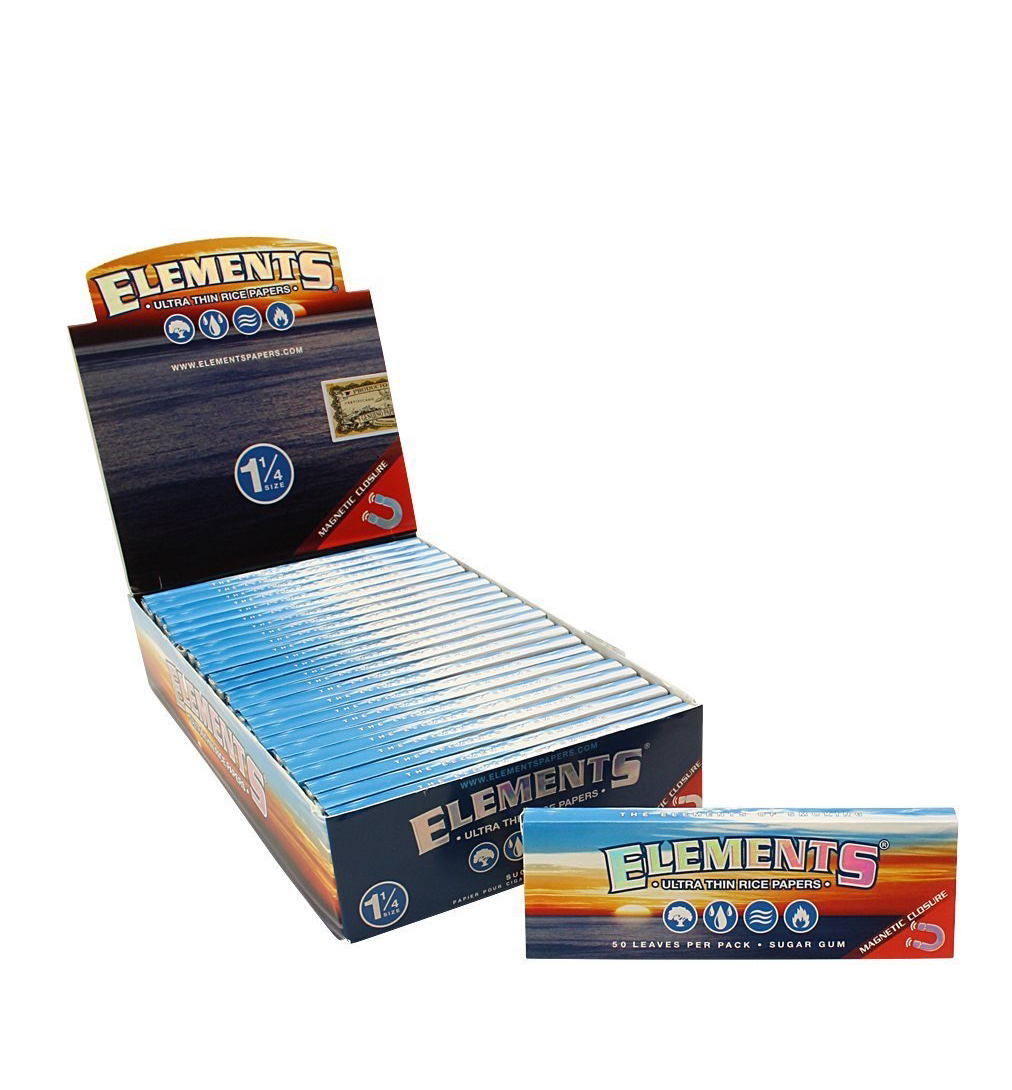 Elements 1 1/4 Rice papers