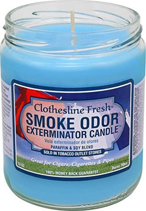 Smoke Odor Candle