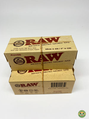 RAW parchment paper roll