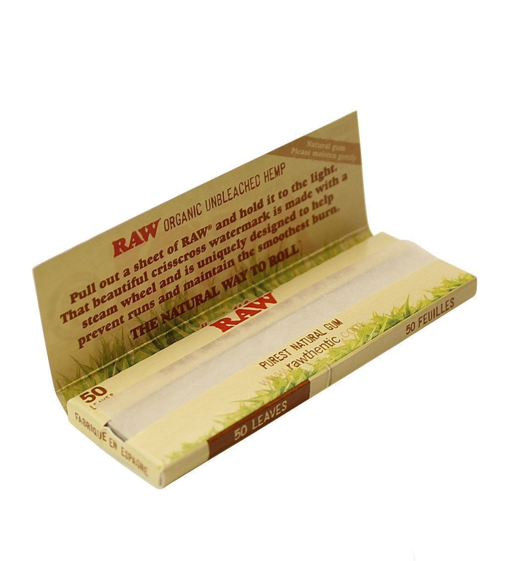 Raw Organic 1 1/4 rolling papers