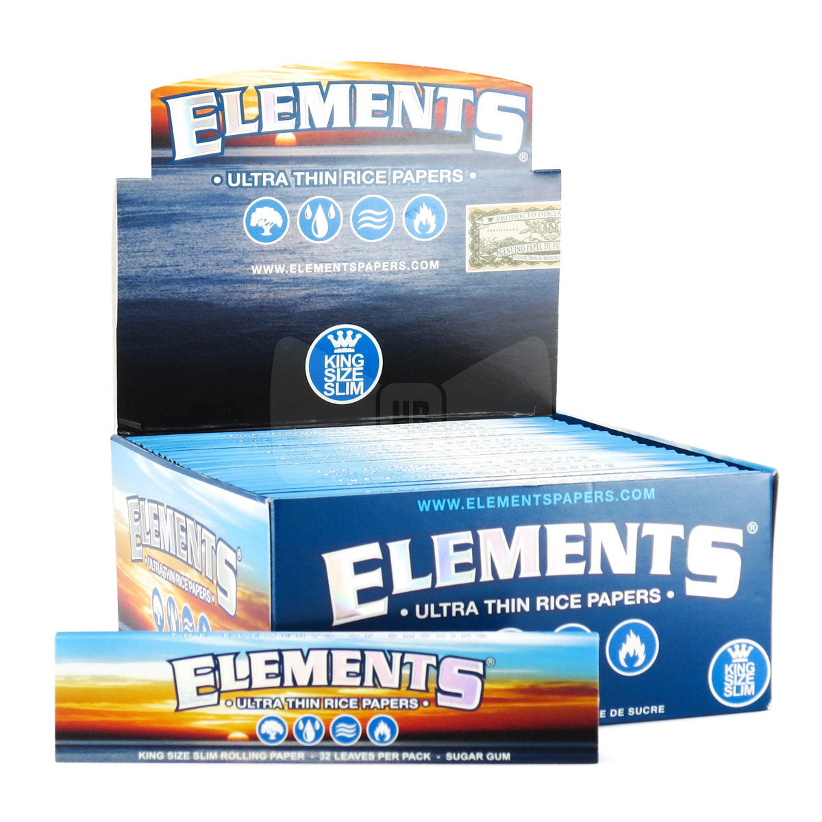 Elements King Size rolling papers