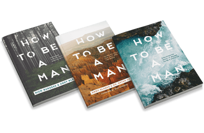 How to Be a Man: Three Book Set [Adult Edition]