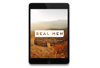 Real Men: A 40-Week, Video-Driven Discipleship Curriculum for Men