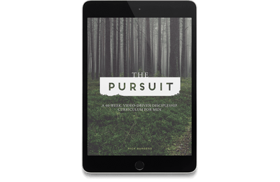 The Pursuit: A 40-Week, Video-Driven Discipleship Curriculum for Men