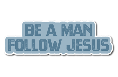 The Man Church Sticker