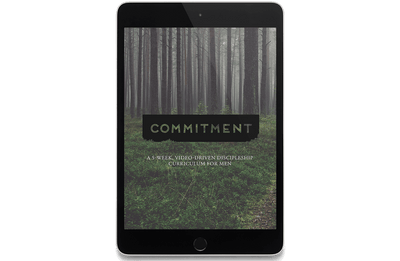 Commitment: A 5-Week, Video-Driven Discipleship Curriculum for Men