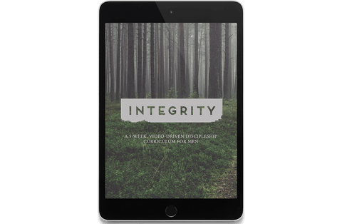 Integrity: A 5-Week, Video-Driven Discipleship Curriculum for Men