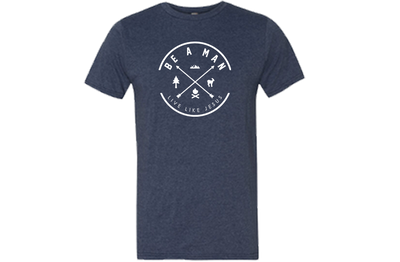 Be a Man Tee - Rugged