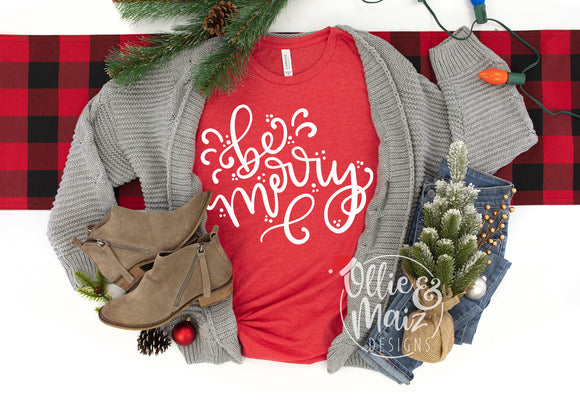 Be Merry Christmas Shirt