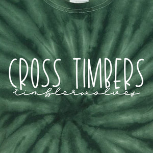 Cross Timbers Green Tie Dye T-Shirt