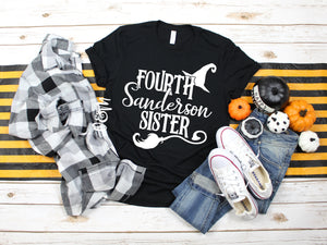 Fourth Sanderson Sister - Halloween T-Shirt