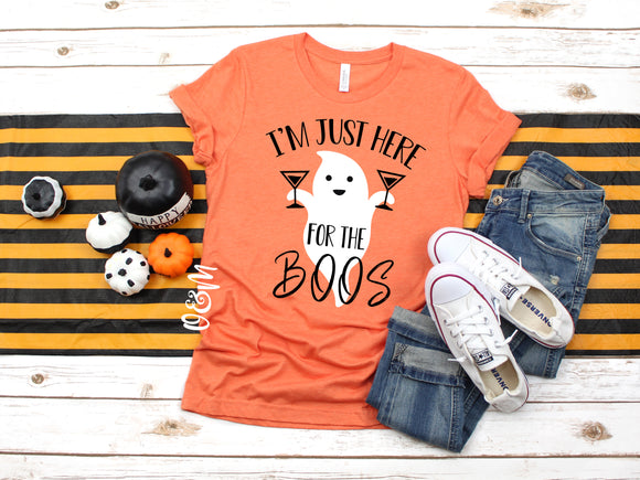 Here for the Boos Halloween T-Shirt