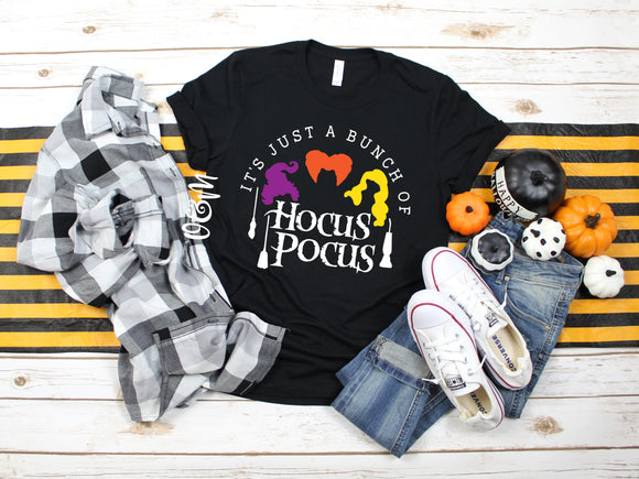 It's Just a Bunch of Hocus Pocus Halloween T-Shirt
