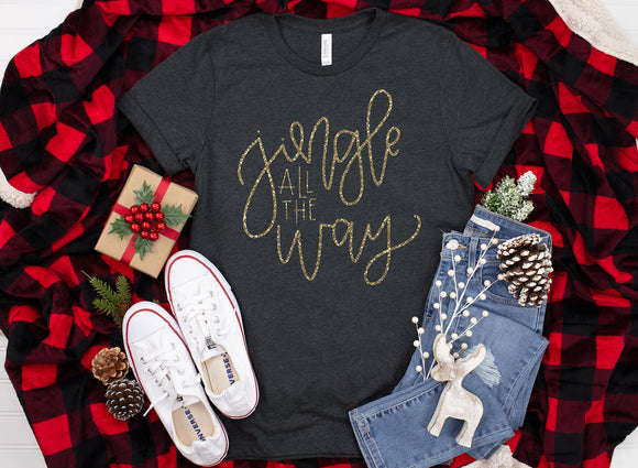 Jingle All the Way Christmas Shirt