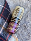 Fall Leopard and Plaid Glitter Tumbler