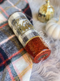 Fall Plaid Colorblock Tumbler