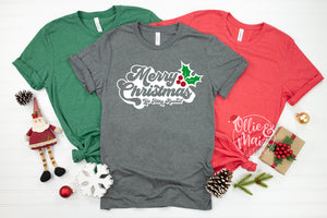 Retro Merry Christmas Ya Filthy Animal Shirt
