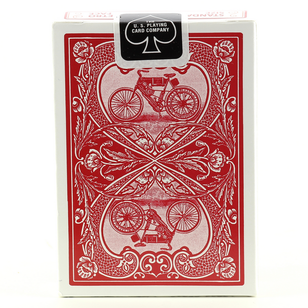 AUTOBIKE RED Bicycle Cards