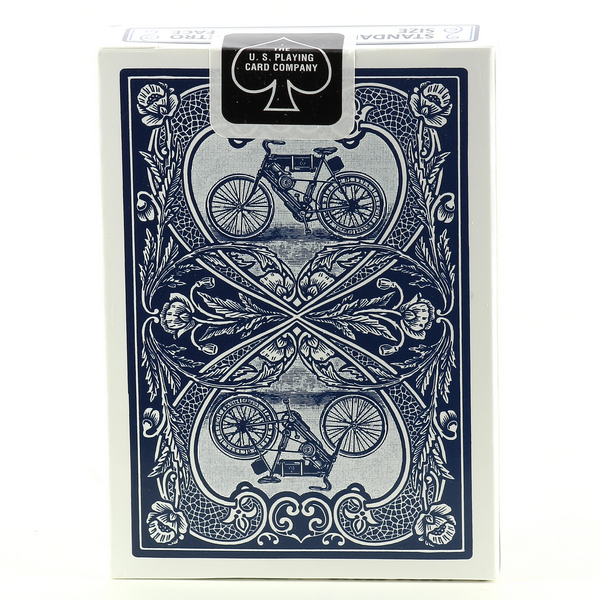 AUTOBIKE BLUE Bicycle Cards