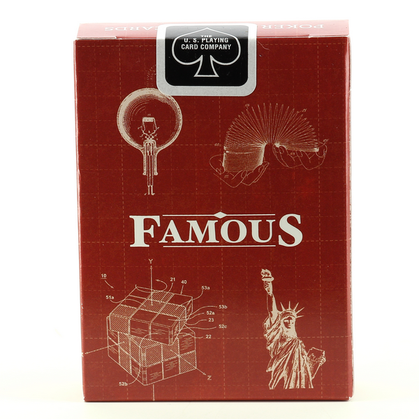 Patent - FAMOUS Bicycle Cards