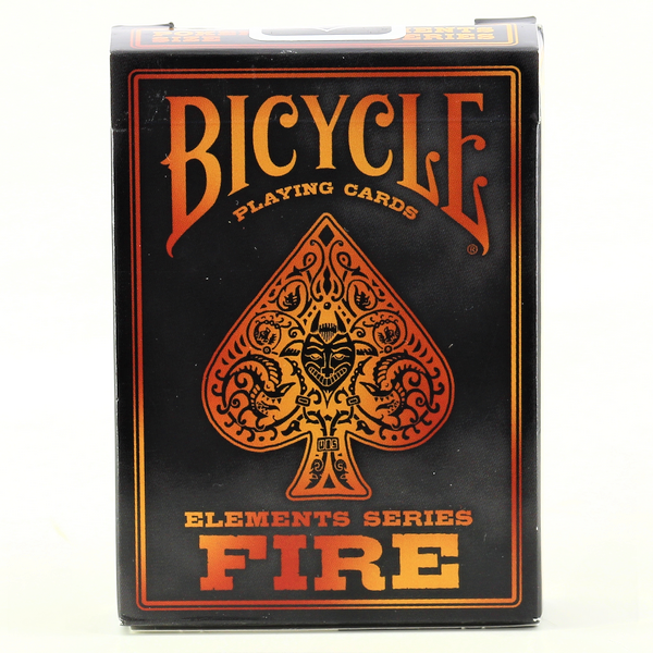 FIRE Bicycle Cards