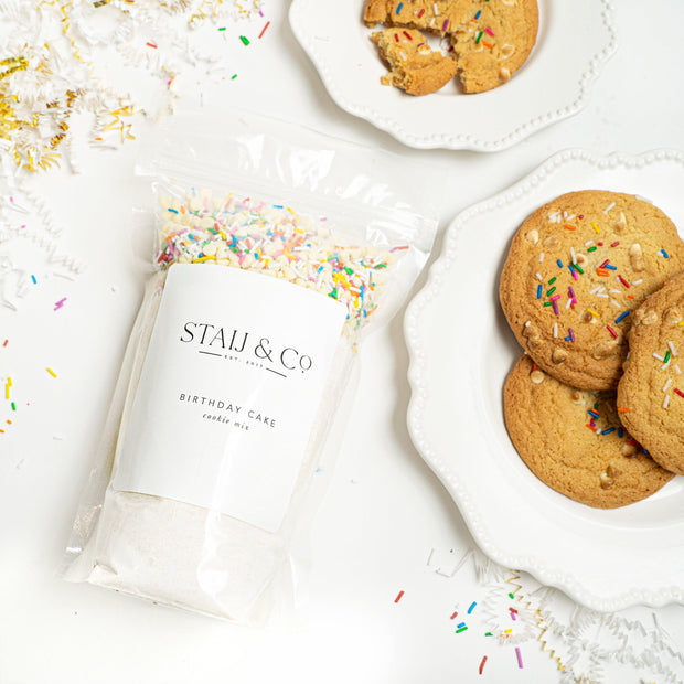 Birthday Cake Cookie Mix