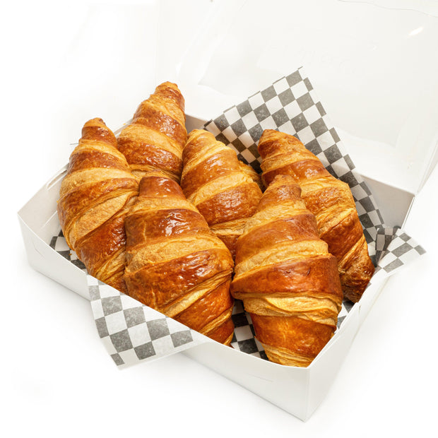 Butter Croissants (box of 6)