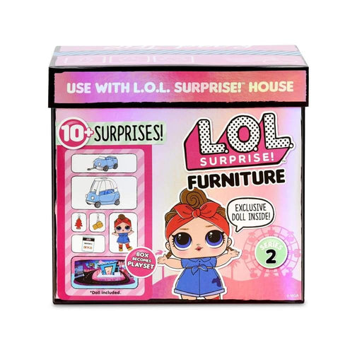L.O.L. Surprise Furniture with Doll - Autot - L.O.L Suprise!