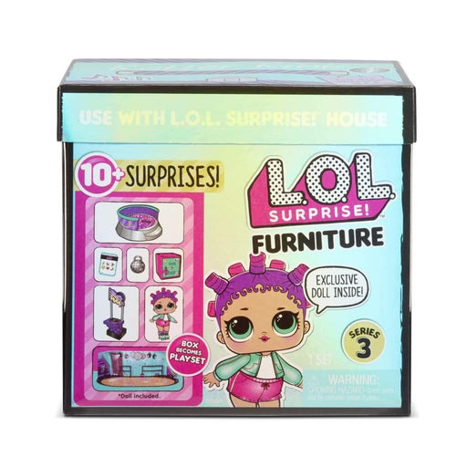L.O.L. Surprise Furniture with Doll - Rullaluisteluareena -