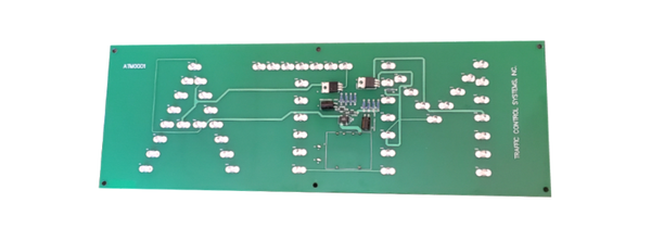 TCS Signs model 617 LED direct view ATM circuit board.