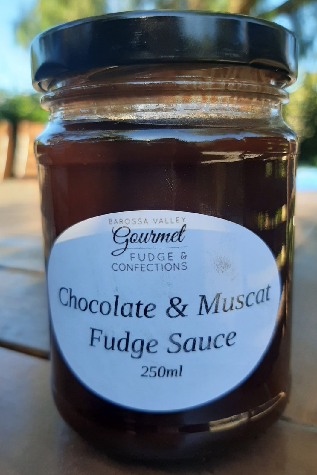 Chocolate and Muscat Fudge Sauce